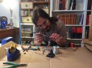 Daniel at work. Photo by Julia Pelta Feldman.